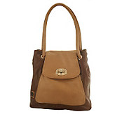 As Is V Couture Charlotte Flap Front Tote - A229700