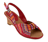 Aerosoles Zenthusiasm Slingback Wedge Sandals - A232104
