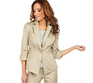 Joan Rivers Tailored Hourglass Jacket - A215405