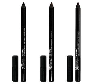 It Cosmetics No Tug Anti-Aging Silk Waterproof Eyeliner Trio