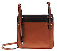 Tignanello Glove Leather Colorblock Zip Top Crossbody Bag - A225906