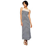 Liz Claiborne New York Colorblock Stripe Knit Maxi Dress - A224108