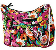 Vera Bradley Signature Print Zip Top Convertible Hobo - A225210