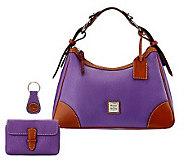 Dooney & Bourke Leather Harrison Hobo w/ Accessories - A228210