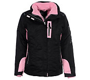 R & O Ladies 3 in 1 Ski Jacket - A322012