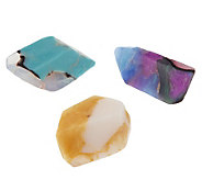 SoapRockettes 3-piece Gemstone Glycerin Soap Set - A219313