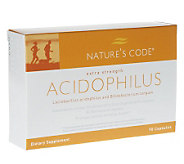 Natures Code Acidophilus Probiotic Capsules 90-Day A-D - A93416