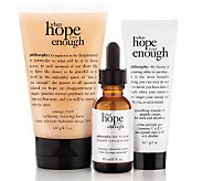 philosophy when hope is not enough skincare trio Auto-Delivery - A236917