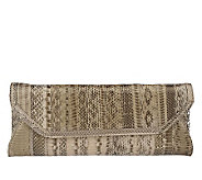 Pure Genuine Watersnake Clutch - A211618
