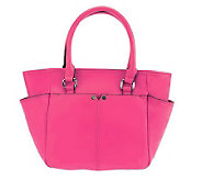 Tignanello Glove Leather French Tote with Back Pocket - A231020