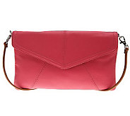 Tignanello Pebble Leather East/West Flap Crossbody - A224927