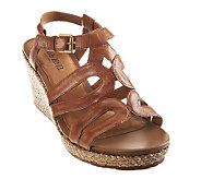 Cobb Hill by New Balance Maria Mulit Strap Wedge Sandals - A235029