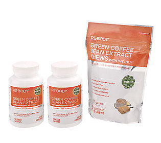 A235531 Re-Body Green Coffee Bean Extract with Svetol 75-Day Supply