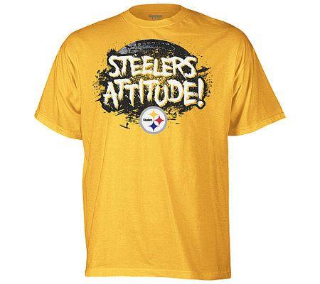NFL Pittsburgh Steelers Team Attitude T Shirt —