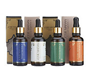 Josie Maran Set of 4 Scented Argan Oils - A226233