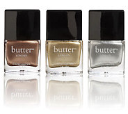 butter LONDON Heavy Medal Metallic Nail Polish Trio - A229333