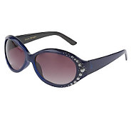 Joan Rivers Metallic Disc Sunglasses - A219735