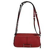 Tignanello Pebble Leather East/West Adjustable Crossbody - A221237