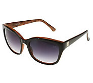 Liz Claiborne New York Wayfarer Sunglass with Colorblock Dtl - A223943