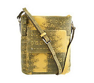 B. Makowsky Leather Zip Top Crossbody Bag - A230947