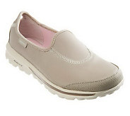 Skechers GOwalk Undercover Leather Slip-on Shoes - A232448