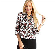 Joan Rivers Spring Floral Jacket - A215749