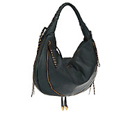 orYANY Leather Jasmine Multi-Zipper Hobo Bag - A228550