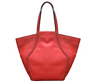 orYANY Leather Alexandra Studded Tote - A233953