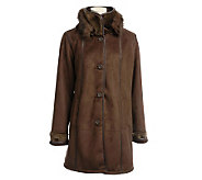 Excelled Man-made Shearling Coat - A321055