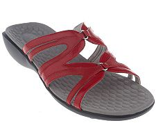 Privo by Clarks Multi Strap Slides with Soleassage