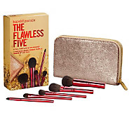 bareMinerals The Flawless Five Full Size 5-pc Brush Kit with Bag - A225658