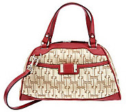 Tignanello Signature Print Satchel with Removable Shoulder Strap - A228858