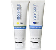 GO SMiLE AM and PM Toothpaste Duo - A242258