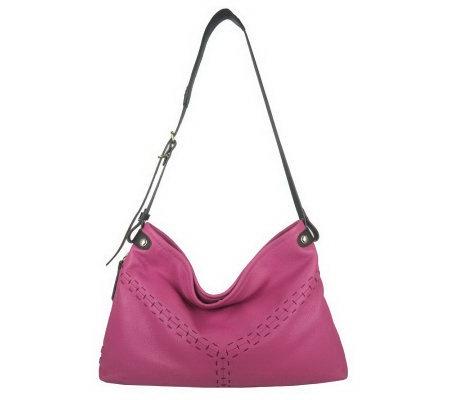 A231261 orYANY Leather Natalie Shoulder Bag with Adjustable Strap