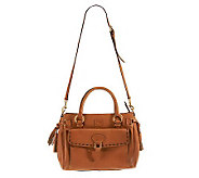 Dooney & Bourke Florentine Leather Large Pocket Satchel - A222462