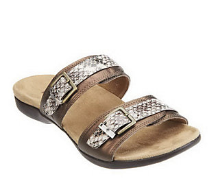 Weil by Orthaheel Mystic II OrthoticLeather Strap Sandals