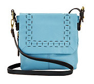 orYANY Leather Bobbi Crossbody Bag with Stitch Detail - A231263