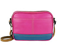 Tignanello Pebble Leather Colorblock Crossbody Bag - A231564