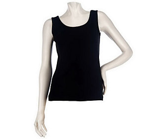 Women with Control Reversible Neckline Tank