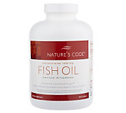Natures Code Enteric Coated Omega-3 FishOil with EPA & DHA Auto-Delivery - A94466