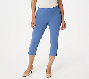 Women with Control Contour Waist Pull-on Capri Pants