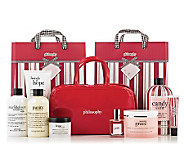philosophy holiday 8 pc. deluxe collection with travel bag - A225568