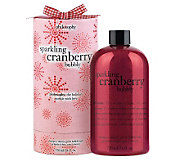 philosophy sparkling cranberry bubbly 3-in-1 gel, 24 oz. - A228469
