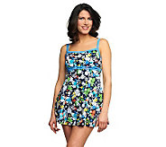 Fit 4 U Ds & Es Spring Double Bow Swim Dress - A231069
