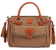 Dooney & Bourke Dillen Leather Medium Pocket Satchel - A227570