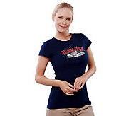 As Is Team USA Womens Star Crest Short Sleeve T-Shirt - A234570