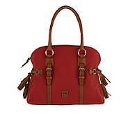 Dooney & Bourke Dillen Leather Domed Buckle Satchel - A227571