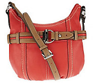 Tignanello Glove Leather Crossbody with Belting Detail - A234073