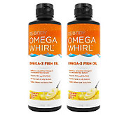 Re-Body Set of 2 Omega Whirl Omega-3 Supplement - A232975