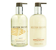 Molton Brown Citrus Celebration Hand Wash and Lotion Duo - A234475
